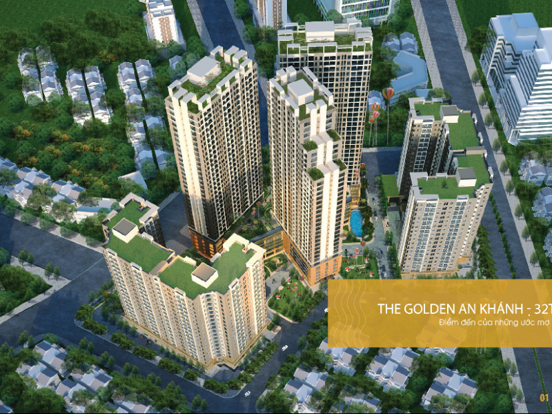THE GOLDEN AN KHANH - 32T BULDING PROJECT
