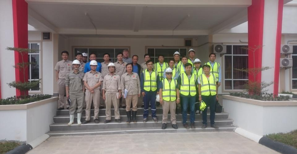 The Chairman of Song Da 5 Paid a Visit to The Site of Nam Emoun HPP – Lao PDR