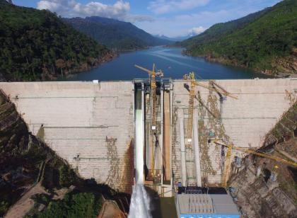Nam Ngiep 1 Hydropower Project – Song Da 5's success in Roller Compacted Concrete (RCC) Main dam