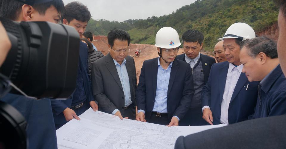 Vice Minister of Ministry of Agriculture and Rural Development visit Ban Lai Reservoir Project Site in Lang Son Province
