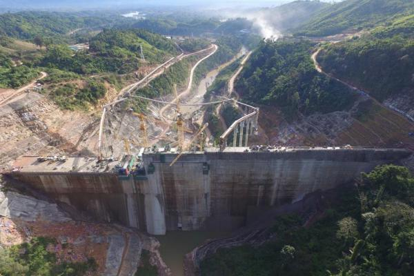 An overview video on the completion of Nam Ngiep 1 HPP