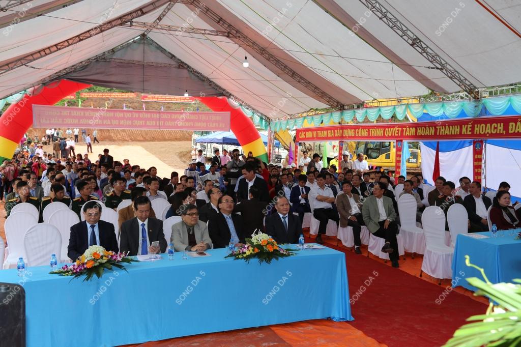 Sông Đà 5 phối hợp tổ chức thành công Hội nghị triển khai thi công...
